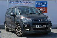 USED 2013 63 CITROEN C3 PICASSO 1.6 PICASSO VTR PLUS EGS 5d 118 BHP BLUETOOTH HANDS FREE