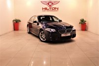 USED 2011 11 BMW 5 SERIES 3.0 530D M SPORT 4d AUTO 242 BHP + 1 PREV OWNER + FULL SERVICE HISTORY  + HEATED LEATHER SEATS
