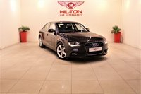 USED 2014 14 AUDI A4 2.0 TDI SE TECHNIK 4d 134 BHP +£30 ROAD TAX + 1 OWNER FROM NEW
