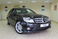USED 2010 60 MERCEDES-BENZ C CLASS 2.1 C220 CDI BLUEEFFICIENCY SPORT 4d AUTO 170 BHP SALOON 17 INCH AMG ALLOYS, AMG SPORTS PACKAGE, AMG BODY STYLING, THROUGH LOAD FACILITY, ELECTRIC FOLDING MIRRORS, HUGE SPEC