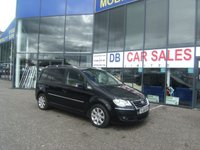 USED 2008 08 VOLKSWAGEN TOURAN 2.0 SPORT TDI 5d 138 BHP £0 DEPOSIT, LOW RATE FINANCE ANYONE, DRIVE AWAY TODAY!!