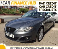 USED 2012 12 SEAT EXEO 2.0 CR TDI SE TECH 4d 141 BHP