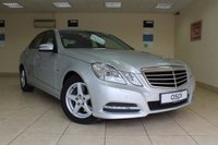 USED 2011 61 MERCEDES-BENZ E CLASS 2.1 E250 CDI BLUEEFFICIENCY AVANTGARDE 4d AUTO 204 BHP SALOON SATELLITE NAVIGATION, LEATHER, HEATED FRONT SEATS, PARKTRONIC, LED RUNNING LIGHTS, GREAT SPEC