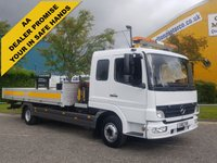 USED 2006 56 MERCEDES-BENZ ATEGO 815 SLP/Crew Cab Dropside+Crane Low Mileage 4x2	Palfinger 3200 Cruise 5 seats