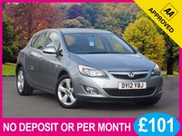 USED 2012 12 VAUXHALL ASTRA 1.4 SRI 5dR 138 BHP AIR CON 17 INCH ALLOYS