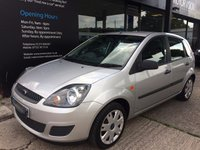 2007 FORD FIESTA 1.6 STYLE CLIMATE 16V 5d AUTO 100 BHP £SOLD