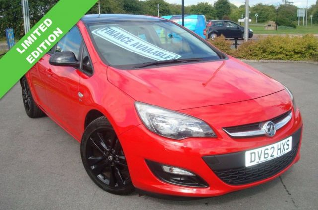 2012 62 VAUXHALL ASTRA 1.6 ACTIVE LIMITED EDITION 5d 113 BHP