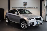 USED 2009 09 BMW X6 3.0 XDRIVE30D 4DR AUTO 232 BHP + FULL BLACK LEATHER INTERIOR + FULL BMW SERVICE HISTORY + PRO SATELLITE NAVIGATION + BLUETOOTH + HEATED COMFORT SEATS WITH MEMORY + REVERSE CAMERA + CRUISE CONTROL + CLIMATE CONTROL + PARKING SENSORS + 20 INCH ALLOY WHEELS +