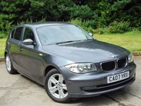 USED 2007 07 BMW 1 SERIES 1.6 116I SE 5d 114 BHP FULL SERVICE HISTORY AND 12 MONTHS MOT
