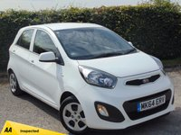 USED 2014 64 KIA PICANTO 1.0 1 5d 128 POINT AA INSPECTED *ZERO ROAD TAX*