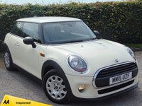 USED 2015 15 MINI HATCH ONE 1.5 ONE D 3d 94 BHP LOW MILEAGE & 128 POINT AA INSPECTED