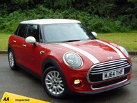 USED 2014 64 MINI HATCH COOPER 1.5 COOPER 5d 134 BHP 128 POINT AA INSPECTED & 12 MONTHS FREE AA MEMBERSHIP