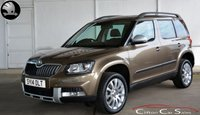 USED 2014 14 SKODA YETI 2.0TDi OUTDOOR 4x4 ELEGANCE DSG AUTO 138 BHP Finance? No deposit required and decision in minutes.