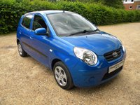 USED 2010 10 KIA PICANTO 1.1 STRIKE 5d 64 BHP Cheap Tax , Cheap To Run, Full Service History