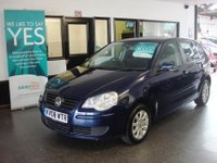 USED 2008 08 VOLKSWAGEN POLO 1.4 SE 5d AUTO 79 BHP Three owners, full & comprehensive service history, June 2018 Mot. Small 5 door Automatic