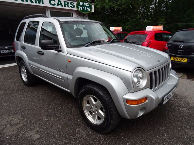 2004 04 JEEP CHEROKEE 2.8 LIMITED CRD 5d AUTO 148 BHP