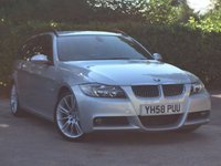2008 BMW 3 SERIES 3.0 325D M SPORT TOURING 5d 195 BHP £10000.00