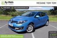 USED 2014 14 RENAULT MEGANE 1.5 DYNAMIQUE TOMTOM ENERGY DCI S/S 5d 110 BHP FULL SERVICE HISTORY, ONE OWNER, £0 ROAD TAX,  LOW MILES, BUILT IN TOM TOM