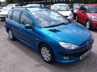 USED 2005 55 PEUGEOT 206 1.4 SW S HDI 5d 68 BHP ***Excellent economy - reliable family car  - Full Service history  - Long MOT***