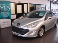 USED 2010 10 PEUGEOT 308 1.6 CC SPORT 2d 120 BHP Two owners, full service history, April 2018 Mot, 4 seat Cabriolet