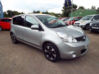 USED 2013 13 NISSAN NOTE 1.4 N-TEC PLUS 5d 88 BHP ONE OWNER FROM NEW / FULL SERVICE HISTORY