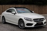 USED 2016 16 MERCEDES-BENZ C CLASS COUPE C 250 D AMG LINE PREMIUM PLUS HUGE SPEC, OVER £8500 OF OPTIONAL EXTRAS.