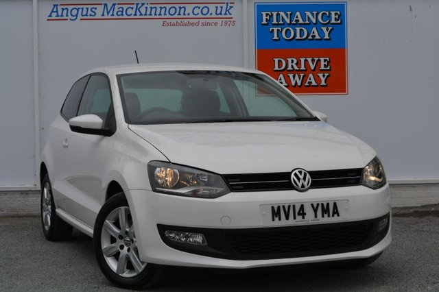 2014 14 VOLKSWAGEN POLO 1.2 MATCH EDITION TDI 3d 74 BHP
