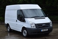 2011 FORD TRANSIT 2.2 280 SHR 5d 85 BHP AIR CON FWD SWB M/ROOF DIESEL MANUAL VAN  £5290.00