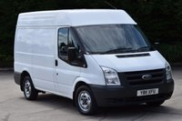 2011 FORD TRANSIT 2.2 280 SHR 5d 85 BHP AIR CON FWD SWB M/ROOF DIESEL MANUAL VAN  £6990.00