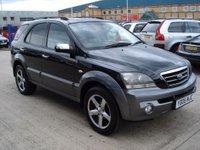 USED 2005 05 KIA SORENTO 2.5 XSE CRDI 5d 139 BHP MOT SERVICE WARRANTY FINANCE