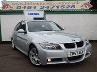 USED 2007 57 BMW 3 SERIES 2.0 320D M SPORT 4d 161 BHP DIESEL M SPORT, FULL SERVICE HISTORY