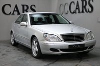 USED 2005 55 MERCEDES-BENZ S CLASS 3.2 S320 CDI 4d 204 BHP SATELLITE NAVIGATION FULL LEATHER