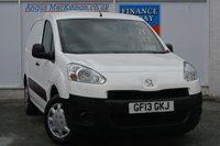 USED 2013 13 PEUGEOT PARTNER 1.6 HDI PROFESSIONAL L1 850 1d 89 BHP ONE PREVIOUS OWNER