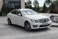 USED 2012 12 MERCEDES-BENZ C CLASS C180 BLUEEFFICIENCY AMG SPORT 1.8 2d  AMG - DAB - MEGA SPEC MUST SEE