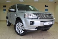 USED 2012 12 LAND ROVER FREELANDER 2.2 SD4 XS 5d AUTO 190 BHP SATELLITE NAVIGATION, ELECTRIC FOLDING MIRRORS, FRONT AND REAR PARKING SENSORS, CRUISE CONTROL, BLACK LEATHER, ELECTRIC FRONT SEATS - HUGE SPEC