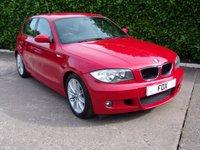 USED 2009 58 BMW 1 SERIES 2.0 118D M SPORT 5d 141 BHP
