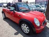 2005 MINI CONVERTIBLE 1.6 ONE 2d 89 BHP £1995.00