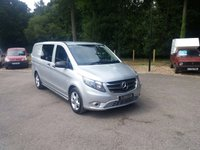 USED 2016 66 MERCEDES-BENZ VITO 116 BLUETEC SPORT Dualiner LWB - New Shape New Shape, Air Con, One Owner