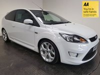 USED 2010 60 FORD FOCUS 2.5 ST-3 3d 223 BHP FSH-LOW MILEAGE-LEATHER-NAV-A/C