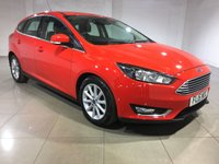 USED 2015 15 FORD FOCUS 1.5 TITANIUM TDCI 5d 118 BHP 1 Owner From New/Sat Nav