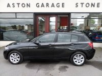 USED 2013 63 BMW 1 SERIES 1.6 114D ES 5d 94 BHP ** 1 OWNER * FSH ** ** FULL SERVICE HISTORY ** PARROT BLUETOOTH**