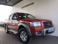 USED 2008 08 FORD RANGER 3.0 WILDTRAK 4X4 LWB D/C 1d 156 BHP