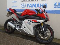 USED 2015 15 YAMAHA YZF-R125  ABS MODEL, RED/WHITE *HPI CLEAR* *LOW MILES*