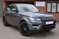 USED 2013 63 LAND ROVER RANGE ROVER SPORT 3.0 SDV6 HSE 5d AUTO 288 BHP 1 FORMER KEEPER BLACK PACK