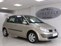 USED 2006 06 RENAULT SCENIC 1.4 DYNAMIQUE 16V 5d 98 BHP Excellent Value Family MPV In Low Insurance Group