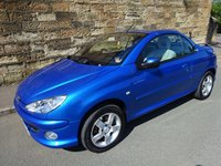 USED 2005 05 PEUGEOT 206 1.6 ALLURE S COUPE CABRIOLET 2d 108 BHP