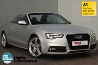 USED 2014 14 AUDI A5 3.0 TDI QUATTRO S LINE SPECIAL EDITION 2d AUTO 242 BHP HEATED RED LEATHER +F/AUDI/S/H