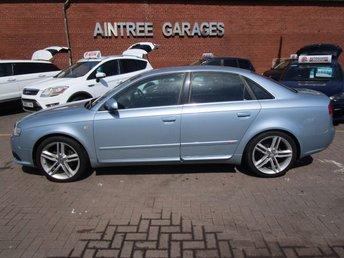 2007 AUDI A4 2.0 TDI S LINE DPF 4d 170 BHP £2490.00