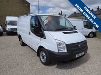 USED 2013 13 FORD TRANSIT 100T 260 2.2TDCi SWB LOW ROOF VAN ONE OWNER - FSH - ONLY 46,000m