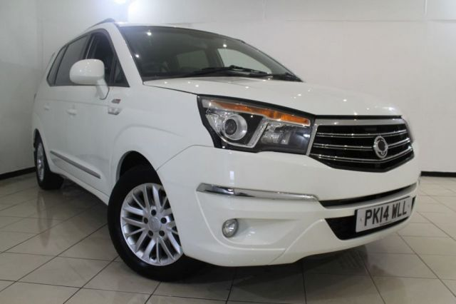View our 2014 14 SSANGYONG RODIUS TURISMO 2.0 EX 5DR AUTOMATIC 155 BHP